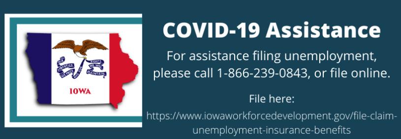 COVID-19 Iowa Workforce Development